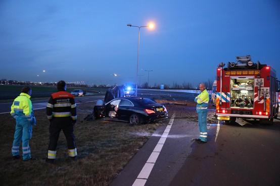 Dodelijk ongeluk op N205/Drie Merenweg in Vijfhuizen [video]