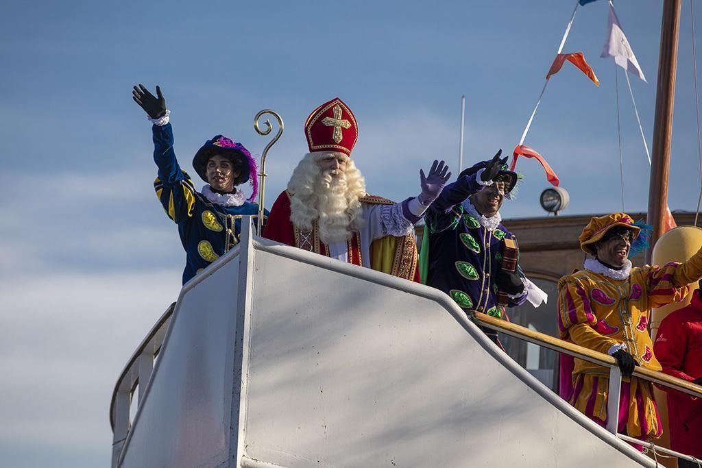 Sinterklaas aangekomen in Haarlem - Haarlems Dagblad