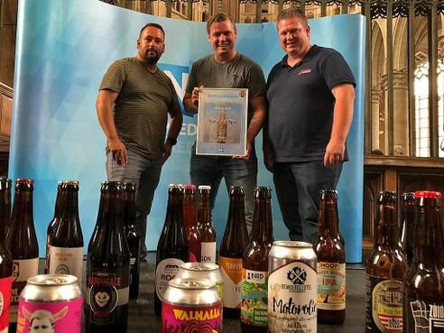Brouwerij Bier door Mannen uit Uitgeest in de prijzen met mannenbier