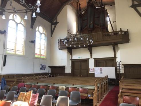 Nieuw cultureel leven in oude kerk Wezenstraat