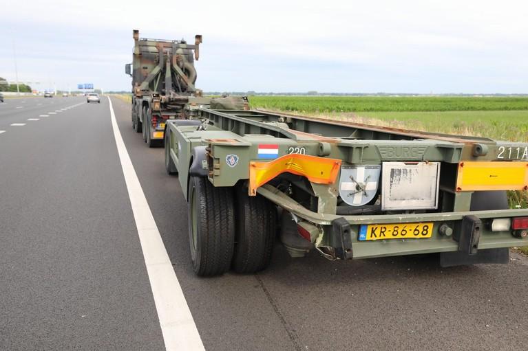 Gewonde en veel vertraging door zwaar ongeluk op A1 bij Baarn
