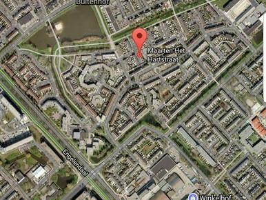 Politiehelikopter in Leiderdorp: twee verdachten aangehouden