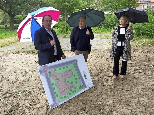 Burgerinitiatief Julianapark in Hillegom wordt een pareltje