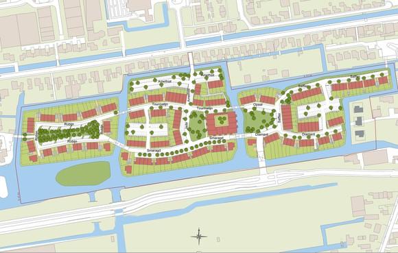 Nieuwbouwwijkje in Roelofarendsveen krijgt een ander sociaal gezicht: minder sociale koopwoningen, meer sociale huur