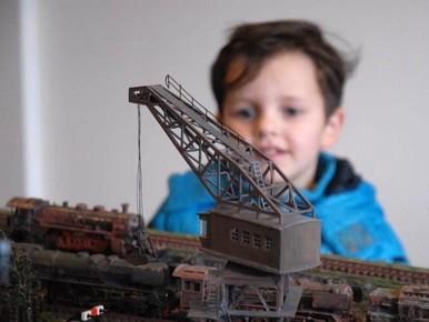 Van Thomas en diorama tot 'locdokter'