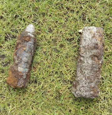 Twee explosieven ontdekt bij graafwerkzaamheden in Naarden