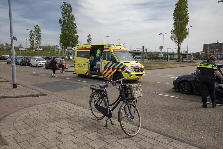 Fietsster gewond bij ongeval Waarderpolder in Haarlem