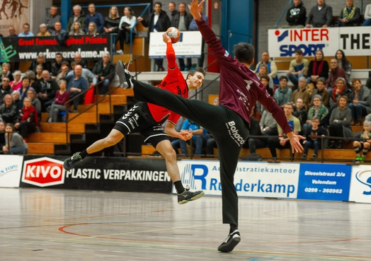 Fikse domper handballers Volendam
