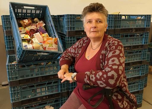 Anita Daamen uit Purmerend weet wat het is als mensen aankloppen bij de voedselbank