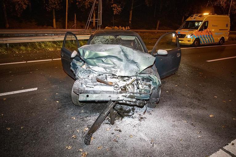 Gewonde bij ongeluk op A9 bij Beverwijk, weg weer vrij