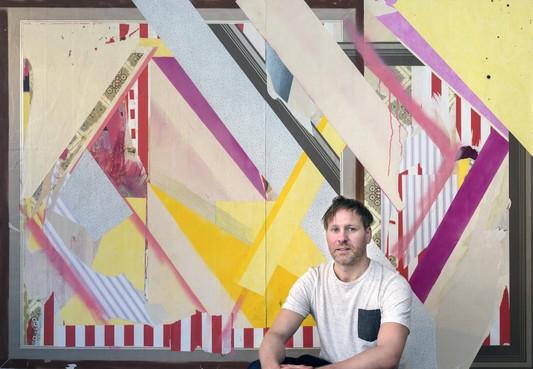 Erik de Bree exposeert bij Kruis-Weg68 Haarlem: 'Uit iedere test kwam dat ik kunstenaar moest worden'