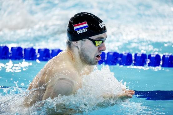 Fikse nederlagen voor Katwijkse zwemmer Kamminga op EK