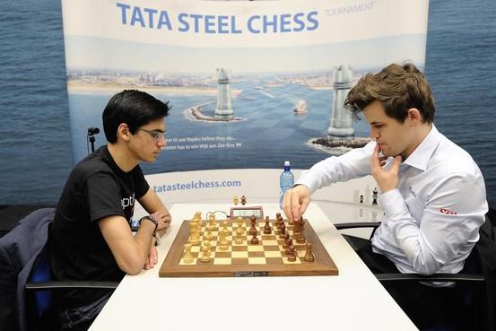 Carlsen en Giri treffen elkaar weer in Wijk aan Zee