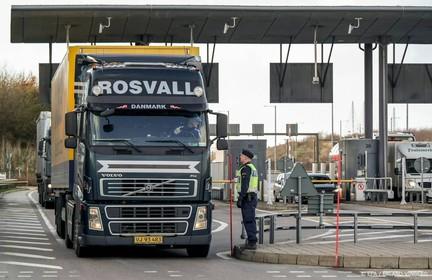 Deense controles langs grens met Zweden