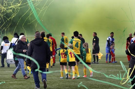 Huizen pakt districtsbeker met eclatante 5-0 zege op Fortuna Wormerveer
