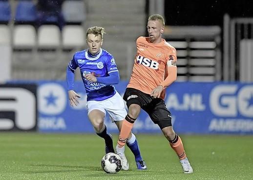 Kevin Visser, de speler die zelf ontslag nam, gaat toch door bij FC Volendam