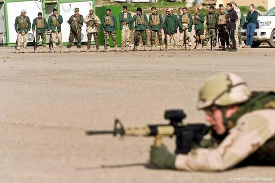 Nederlandse militairen Irak weer aan de slag