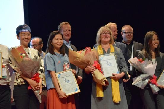 Helemaal overdonderd na pakken internationale bibliotheekprijs School 7