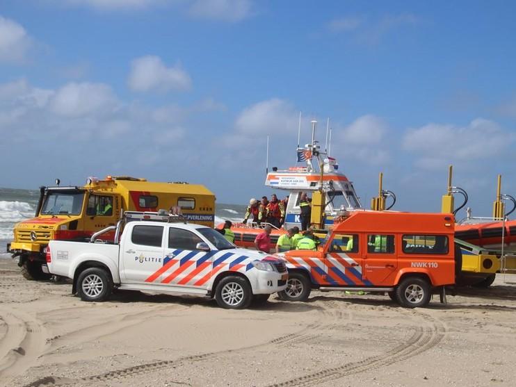 Dode uit zee gehaald bij strand in Noordwijk