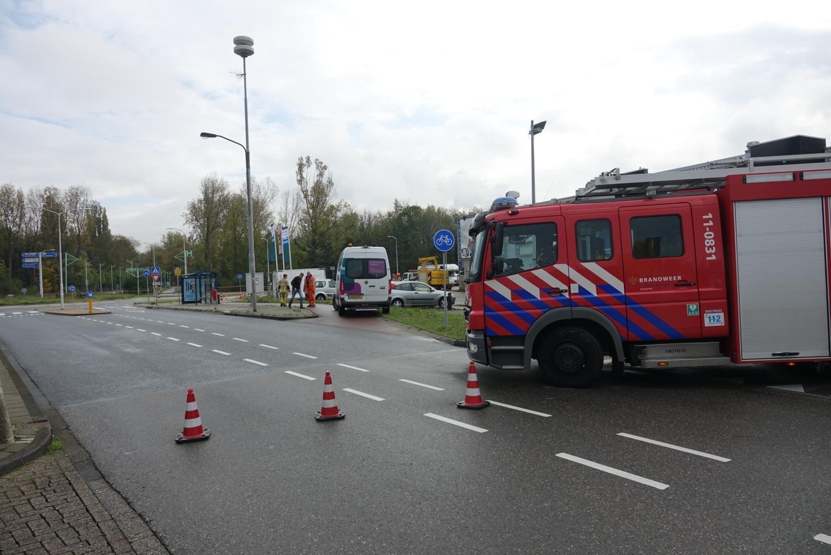 Gasleiding kapotgetrokken in Zaandam; N203 afgesloten in ver... - Noordhollands Dagblad