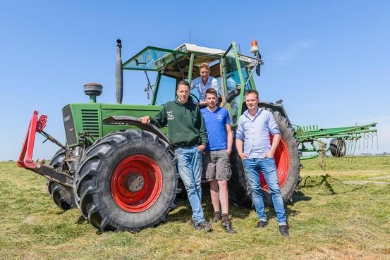 Nieuwe jonge boer is een doorzetter