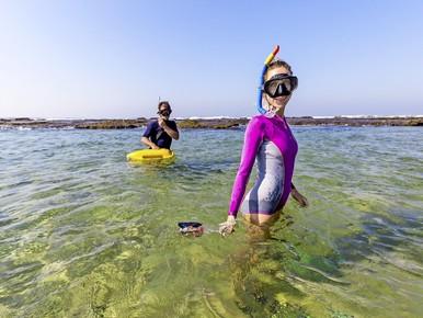 Een nieuwe zee en een nieuwe liefde in Afrika