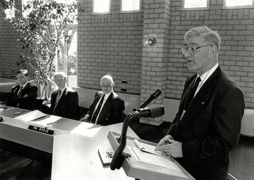 Dijkgraaf Jaap IJff (6 april 1929 - 8 oktober 2019) was moeilijk uit de plooi te krijgen