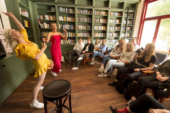 Leids Cabaret Festival terug op historische grond: studentenvereniging Augustinus