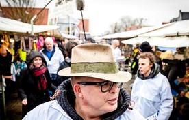 Jan Roos tijdens zijn campagne voor VNL