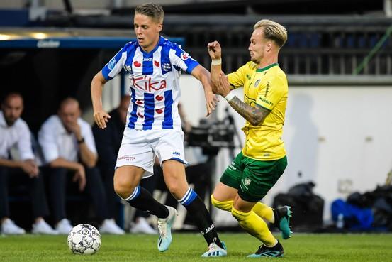 Transfer naar sc Heerenveen ook een verrassing voor Joey Veerman zelf: 'Ik had hier niet meer op gerekend'
