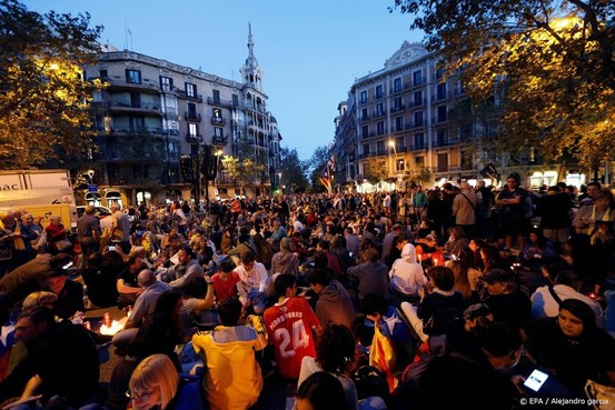 Opnieuw massale protesten in Catalonië