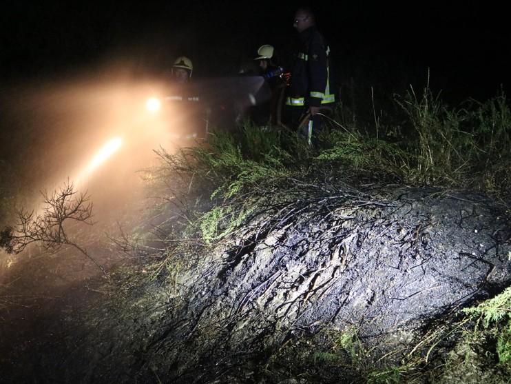 Onderzoek naar brandstichting bij duinbranden in Noordwijk