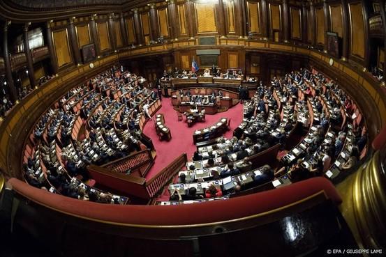 Premier Italië moet volgende week naar Senaat