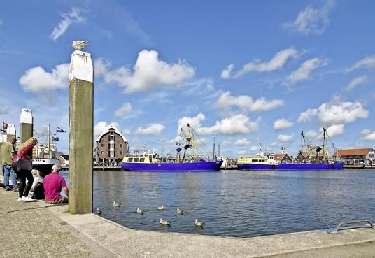 Haven van Oudeschild op Texel is vorig jaar door 2500 schepen bezocht