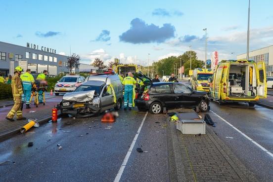 Gewonden door ongeval op Parallelweg in Beverwijk