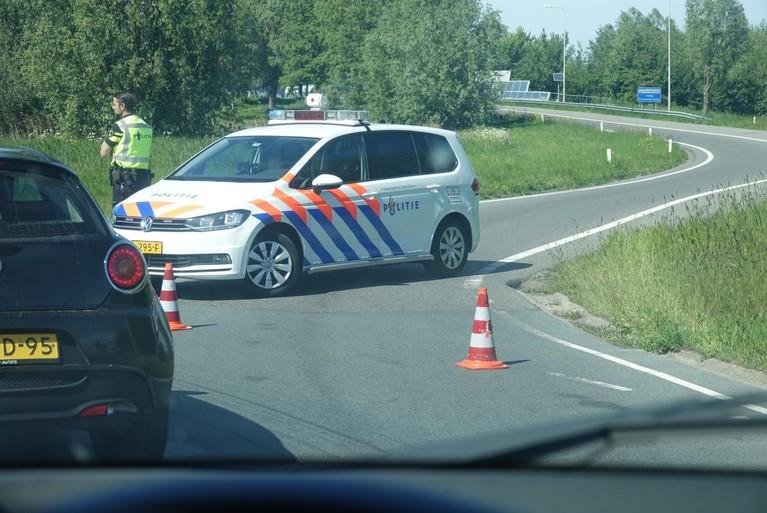 Ongeval op A7 bij Purmerend zorgt voor flinke file