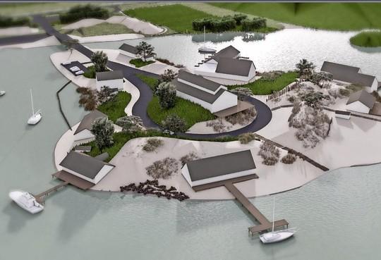 Plan Blaricum aan Zee lijkt gedoemd te verzuipen; projectontwikkelaar van eiland voor kuststrook krijgt financiering niet rond