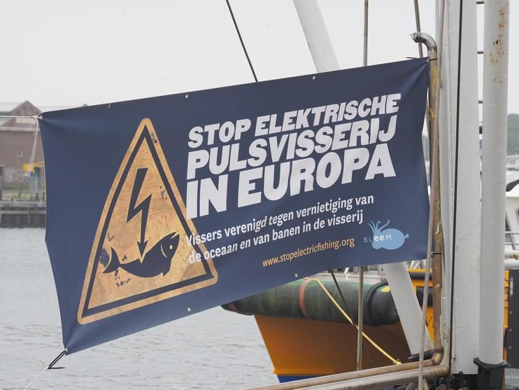 Europees protest tegen pulsvissen