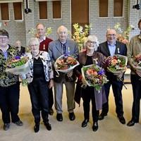 José Jonk, Ada Oosterman, Dirk de Waart, Kees Kras, Jetty Voermans, Nico Kraakman, Gustaaf Schulz.