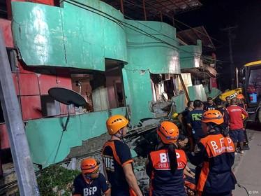 Doden door aardbeving Filipijnen