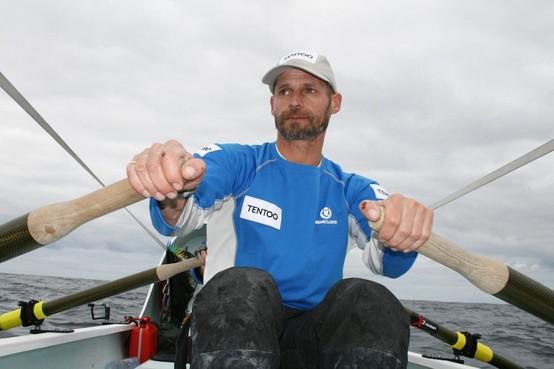 Record voor oceaanroeier Ralph Tuijn