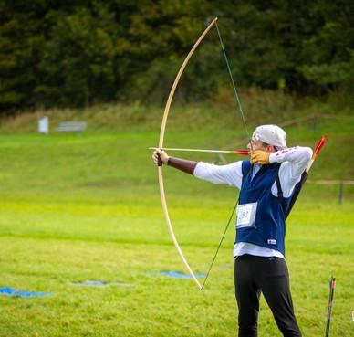 Als een Robin Hood verovert Ruud Vos het zilver op NK run archery