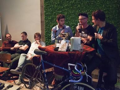 Het Haarlemse Wielercafé vol eerlijkheid