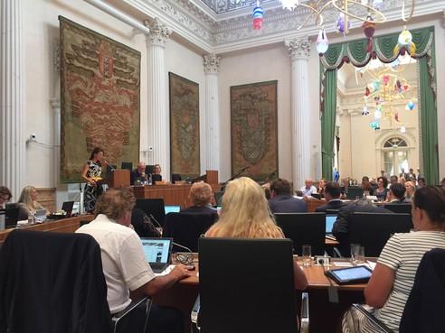 Oppositie Provinciale Staten loopt boos weg bij debat