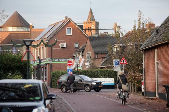 Eenrichtingsverkeer op fietsstraat: oplossing voor het grootste knelpunt op verkeersgebied in Huizen