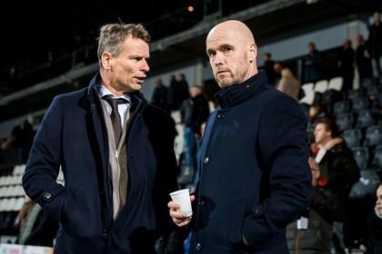Ajaxtrainer Ten Hag na verlies tegen Heracles: dit mag ons niet gebeuren