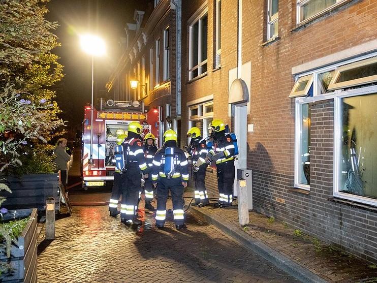 Bewoner ontkomt bij slaapkamerbrand in Haarlem