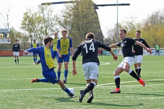Ruw eind aan ongeslagen reeks AFC'34 door curieuze treffer Zaanlandia