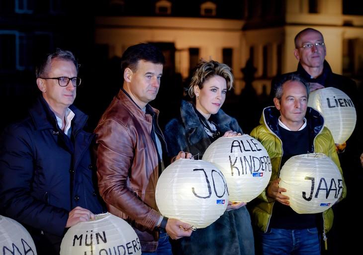 Duizenden lampionnen verlicht in paleistuin Soestdijk