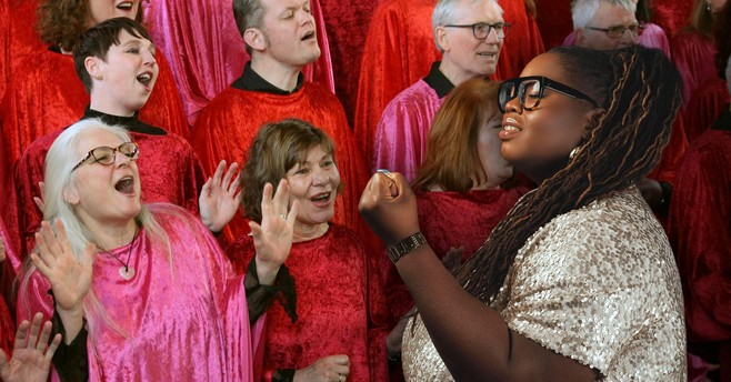 Shirma Rouse en Uptight eren Aretha in Hoorn